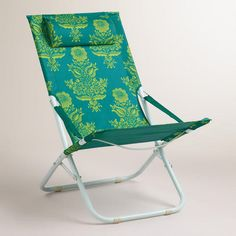 One of my favorite discoveries at WorldMarket.com: Chateau Beach Chair
