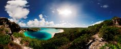 Buy One of the Natural Wonders of the World. Blue Hole Bay, Long Island, Bahamas
