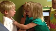 'You poked my heart': Watch these kids have an adorable argument over weather