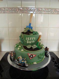 "Jeff""s 50th  Cake by KimmyJury"