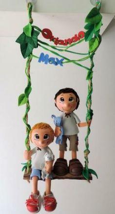 Fofuchos personalizables niños con sus muñecos, mascotas y nombres propios