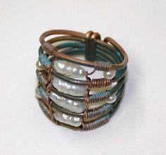 Rings handmade.  Fair Masters - handmade ring islanders.  Handmade.