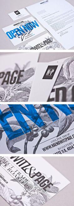 Haenowitz & Page Coffee identity