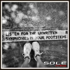 Are you listening?  Can you hear your soles?  Get some Sole here: http://bit.ly/1hppJqp