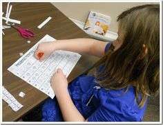 math center: presidential patterns using coins