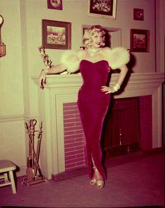 Lucille Ball as Marilyn Monroe - 'I Love Lucy' November 1954