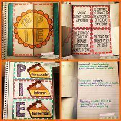 Author's Purpose Interactive Notebook Freebie