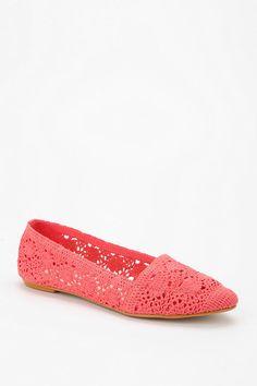 Coral crochet #urbanoutfitters #crochet #skimmer