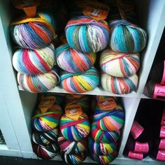 #Adriafil #yarn wall  www.adriafil.com  (by I Knit London shop)