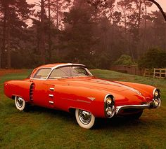 1955 Lincoln Indianapolis (concept car) •  photo: Ron Kimball