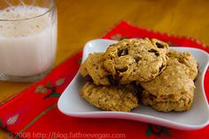 Lower-Fat Peanut Butter Banana Cookies