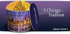 Garretts Popcorn in Chicago...yummy