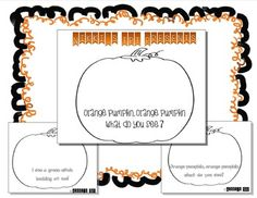 Simply print, cut, color. Assists little ones with color recognition with a Halloween theme.