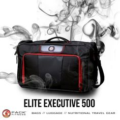 The Elite Executive Briefcase 500. Features include storage for 5 meals plus nutritional supplements, fleece-lined laptop/tablet pocket, portable work station for organizing commute accessories, and roomy main compartment for gym clothes. Get it now at http://buff.ly/1bolSvF. And STAY TUNED...possibly there's a SMALLER EXECUTIVE on the verge of dropping?!