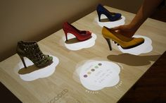 Perch's Augmented and Interactive Displays Could Change the Way You Shop for Shoes