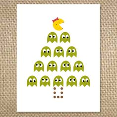 It's a Ms. Pacman Christmas!  Inside: hope your holidays are packed full of cheer