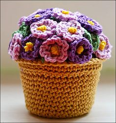 potted plants, plant pattern, brand yarn, pot plant, lion brand