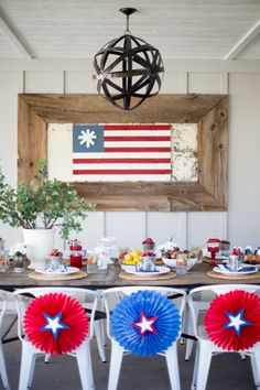 Fourth of July Party Ideas by Dream Book Design