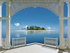 Framed Island, The Bahamas