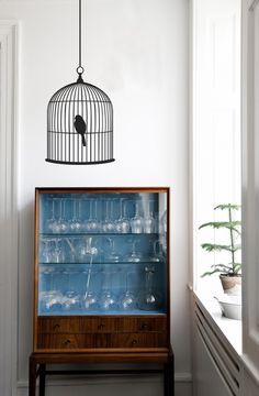 Birdcage wall stickers