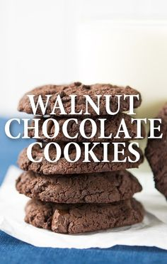 Do you need a new way to get more chocolate in your life? Try this Flourless Walnut Chocolate Cookie Recipe from Chef Jacques Torres, as seen on The Chew! http://www.recapo.com/the-chew/the-chew-recipes/chew-jacques-torres-flourless-walnut-chocolate-cookie-recipe/