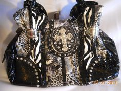Purses with Crosses - Izzabell's Unique Boutique