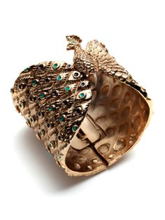 Peacock Cuff / House of Harlow