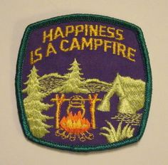 badg, tents, vintag happi, tent camping, vintage, outdoor, happiness, campfires, embroid patch