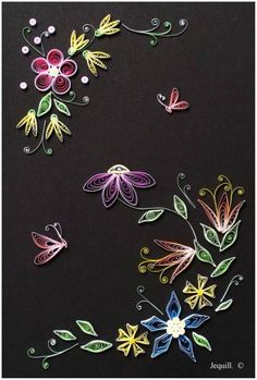 Fantasy Flowers - Quilled Creations Quilling Gallery
