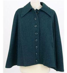 #Vintage Harella, size M #short #cape