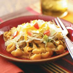 Taco Mac Quick Dinner Recipe from Taste of Home - submitted by JoLynn Fribley of Oakley, Illinois