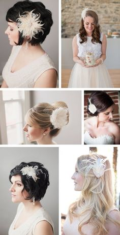 couture jewelry and headpieces...