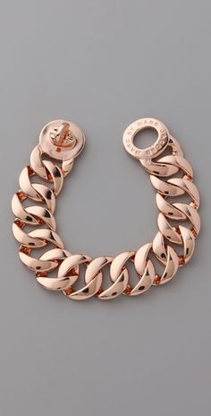 This rose gold bracelet from Marc Jacobs would go perfect with a rose gold watch from Phosphor!