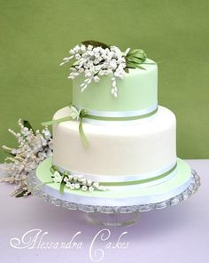 Cake Lilies of the Valley by Alessandra Cake Designer, via Flickr