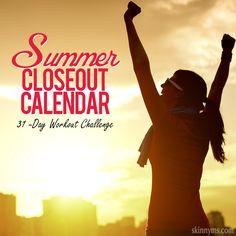 31-Day Workout Calendar