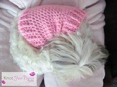 Knot Your Nanas Crochet: Small Dog Crochet Jumper