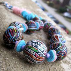 Stroppel Beads by Saffron Addict, via Flickr