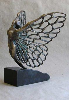 Liubka Kirilova Art Work, Fairy Sculpture