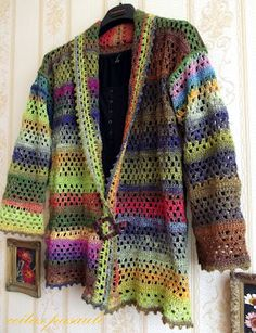 Pretty Crochet Jacket