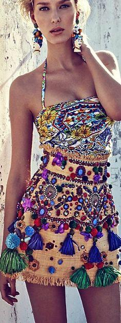 Gypsy style embellishment