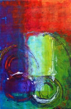 "Saatchi Online Artist: Ana Elisa Benavent; Acrylic, 2011, Painting ""Still Undecided"""