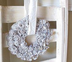 Simple Flower wreath tutorial