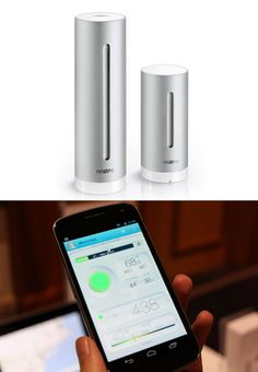This personal weather station lets you control your environment with your smartphone.