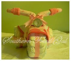 Diaper Tricycle - words can't describe how awesome this is! Just so cute!