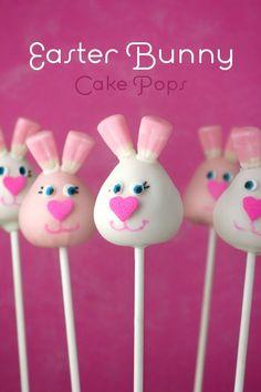 #Easter #bunny cake #pops