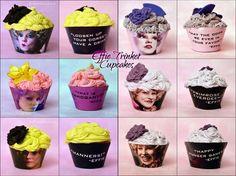 Effie Trinket Cupcakes