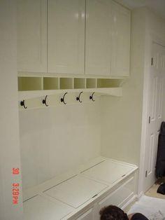 dream, mud rooms, cabinet, laundry rooms, laundrymudroom idea, cubbi, garage mud room ideas, laundri room, storage benches