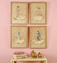 Chinoiserie Wall Vignette