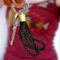 Make this easy peasy key pendant in less than 10 minutes!