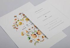 Wedding Invitation I Lisa Hedge